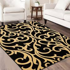 allstar rugs black yellow area rug reviews wayfair for and design 1