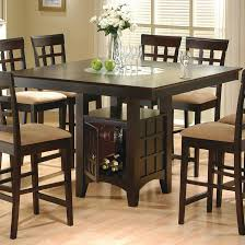 Image Stools Set Glass Round Dining Tables Stunning High Chair Dining Table Counter Height Pub Table Rectangle Dining Table With Econosferacom Dining Tables Outstanding High Chair Dining Table High Back Dining