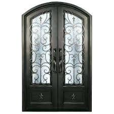 exterior doors houston wrought iron front texas81