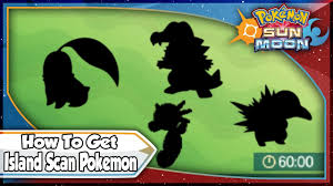 Pokemon Sun And Moon How To Get Rare Island Scan Pokemon With Qr Codes Sm Tips Tricks