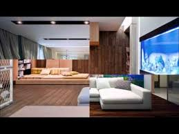 Living Room Designs With Aquarium