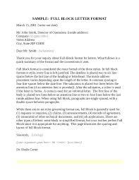 block letter format sample letter in block format full block letter format 03