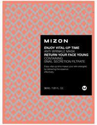 MIZON Enjoy Vital Up Time Anti Wrinkle Mask <b>Маска листовая для</b> ...