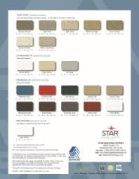 Construction Metal Products Color Chart Pioneer Roofing