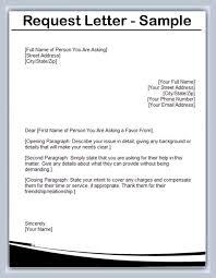 Request Sample Letters Vendor Request Letter Template Dlsource