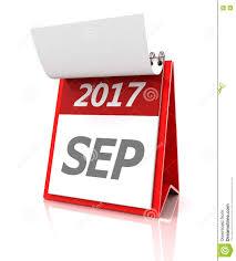 Resultado de imagen de calendario septiembre 2017