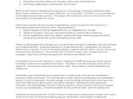 Examples Of Profiles For Resumes Magnificent Resume Profile Example Sample Of A Resume Example Of Resume Profile