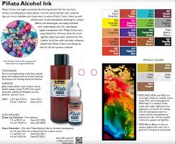 Pinata Ink Color Chart Piñata Alcohol Ink Exciter Pack Of 9