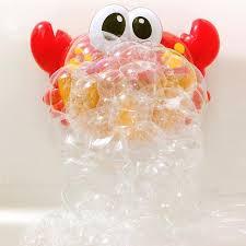myhoeswd spit foam crab toy baby bath toys bathtub accessories play game for bath bathroom 2 jpg