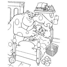 Monsters En Co Monsters Inc Kleurplaten Leuk Voor Kids
