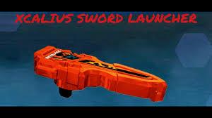 The complete beyblade burst turbo qr code collection! Beyblade Burst Evolution Hasbro App Xcalius Sword Launcher Qr Code Youtube
