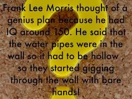 「Frank Lee Morris」の画像検索結果