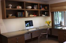 simple home office furniture. Blue Home Office Design With White Furniture And Neat Impressive Simple F