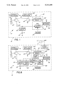 patent us5311168 lock set with self contained door alarm and Detex Wiring Diagrams Detex Wiring Diagrams #65 Basic Electrical Schematic Diagrams