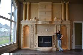 wall unit with fireplace insert