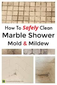 how to clean marble shower tile mold mildew collage photos of mold on shower