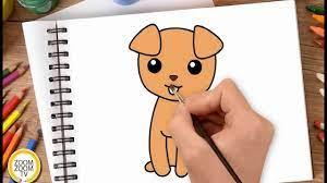 Hướng dẫn cách vẽ CON CHÓ CON, tô màu CHÚ CHÓ CON - How to draw a Puppy /  Dog - YouTube