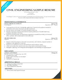 Professional Engineer Resume Samples Civil Engineering Resume Templates Thrifdecorblog Com