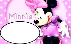 free minnie mouse invitation template free minnie mouse invitation maker mickey mouse birthday invitation