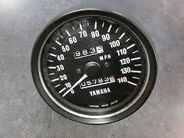 nippon seiki gauage speedometer motorcycle yamaha bull picclick 74 75 yamaha tx xs 650 speedometer xs650 tx650 speedo