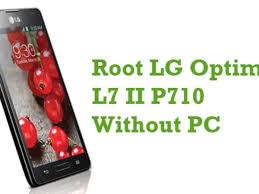 How To Root LG Optimus L7 II P710 ...