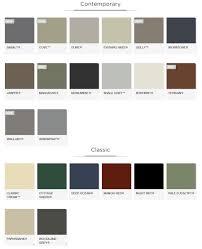 Bluescope Color Chart Colorbond Colour Range Gutters R Us Vic