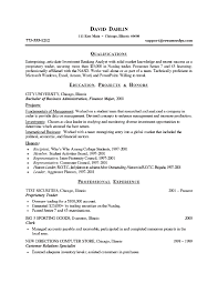 Resume sample of an investment banking analyst with several years of  experience.