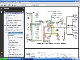fordmanuals com 1966 colorized mustang wiring diagrams ebook screenshot of 1966 colorized mustang wiring diagram page