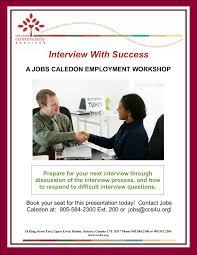 Interview Questions About Success Interview With Success Caledon Community Services