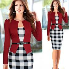 Image result for office gowns for women