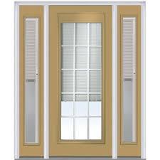 mmi door 60 in x 80 in internal blinds and grilles left hand
