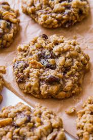 Soft Chewy Oatmeal Raisin Cookies Sallys Baking Addiction