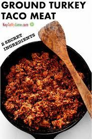 ground turkey taco meat 2 secret