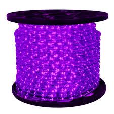 3 8 led rope lighting 120v. 3/8 in. - led purple rope light 2 wire 12 dc volt 150 ft. spool clear tubing with leds led-10mm-pu-12v 3 8 led lighting 120v o