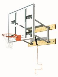 bison adjule wall mounted basketball hoop 72 inch glass