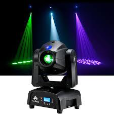 adj american dj focus spot one moving head led light
