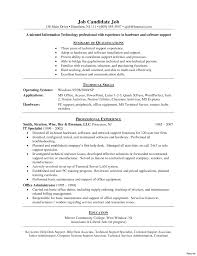 Tech Support Resume Template Technical Support Specialist Sample Job Description Astounding It 19