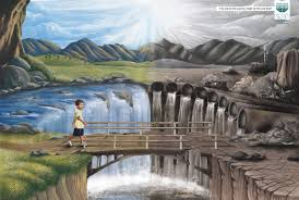 central pollution control board print advert by sir j j institute central pollution control board print ad waterfall