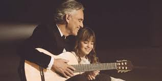 Andrea bocelli, billie eilish, billie joe armstrong of green day, burna boy, camila cabello, celine dion, chris martin, david. Andrea Bocelli And His 8 Year Old Daughter S Rendition Of Hallelujah Will Leave You Speechless