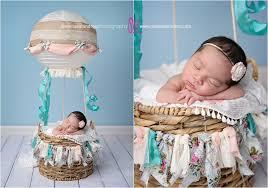 diy hot air balloon newborn prop baby pictures la quinta melissa landres photography