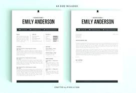Resume Modern Temp Cover Document Template Lccorp Co