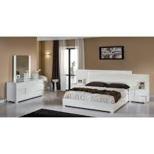 italian bed set furniture. modrest monza italian modern white bedroom set by vig furniture bed