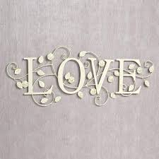 metal words wall decor art wall art with words blooms of love metal word wall art