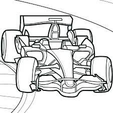 Race Car Color Pages Car Racing Coloring Pages Race Car Coloring