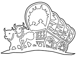 pioneer people wagon. pioneer covered wagon clipart people