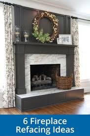 The 25 Best Fireplace Refacing Ideas On Pinterest White For Fireplace  Refacing ...