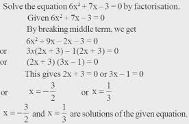 standard form math example of quadratic equation in greatest ncert solutions class 10 maths chapter 4 idea prefabrikk com