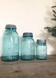 vintage blue mason jars set of ball mason jars with galvanized lidilk glass blue glass jars