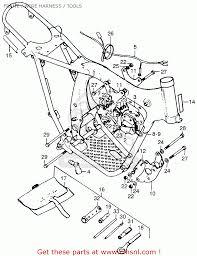 Cl cluh cable tl125 trials 1973 k0 usa 50720355000 1974 honda cr 125 1974 honda tl 125 wiring diagram