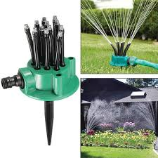 360 degree irrigation for farm with 12